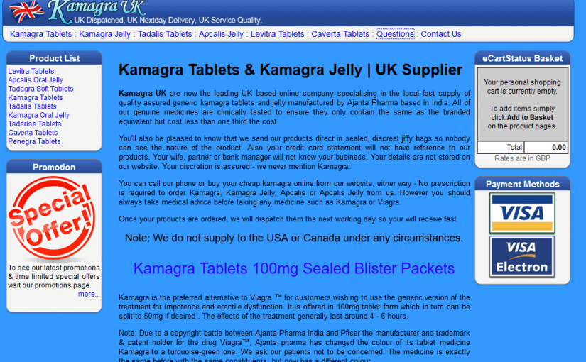 Kamagrauk.co.uk Review – A Scam Australian Pharmacy That Faked Its Location