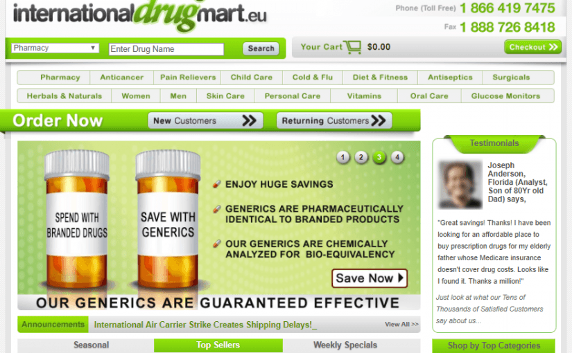 Internationaldrugmart.eu Review – Drug Mart With Fake Reviews and a False Reputation